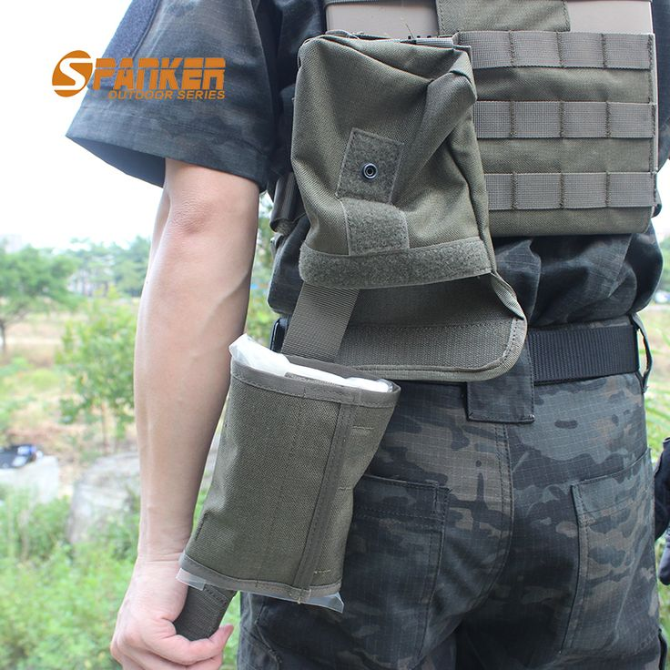 SPANKER Tactical Molle Medical Bag Quick Release Military First Aid Pouch Kit EDC Utility Bag For Tactical Vest Hunting Bags