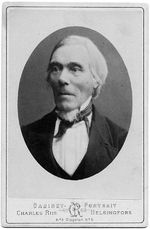 Elias Lönnrot 1802 – 1884 was a physician, botanist and linguist. During the time he was compiling The Kalevala he was the district health officer based in Kajaani responsible for the whole Kainuu region in the eastern part of what was then the Grand Duchy of Finland. He was the son of Fredrik Johan Lönnrot, a tailor and Ulrika Lönnrot; he was born in the village of Sammatti, Uusimaa. [Karelian language is a Finnic language spoken mainly in the Russian Republic of Karelia.]