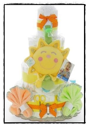 Looking for a great Baby Shower gift? Then check out eDiaperCakes.com. They