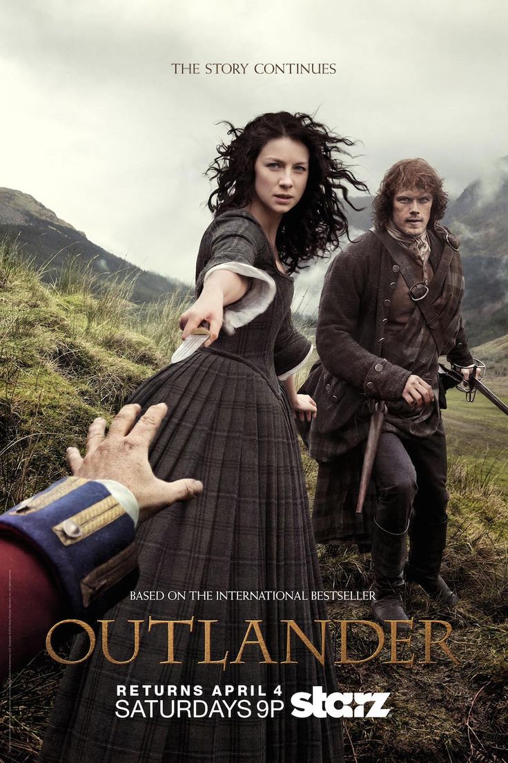Official outlander poster for second half of season 1 continues on april