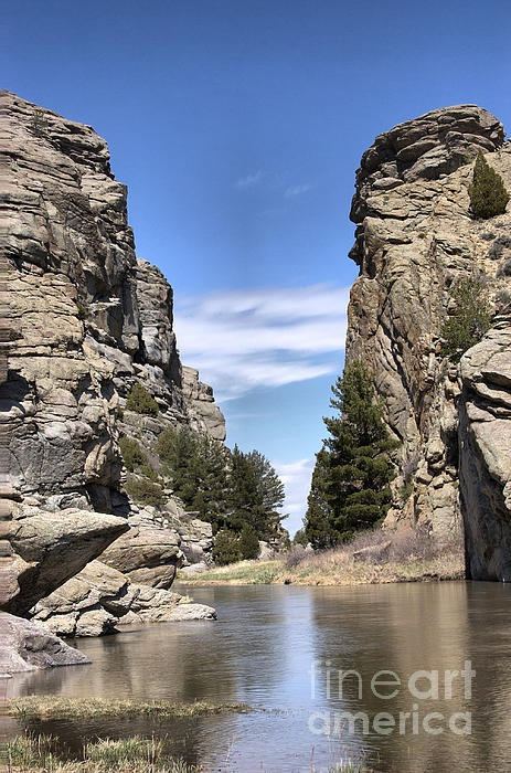 Devils Gate on the Sweetwater / Oregon Trail