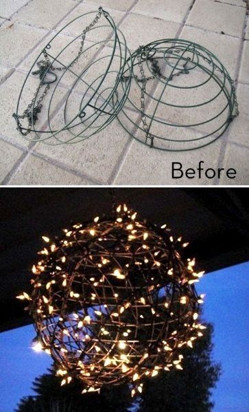 DIY Outdoor Christmas Lighting Ideas