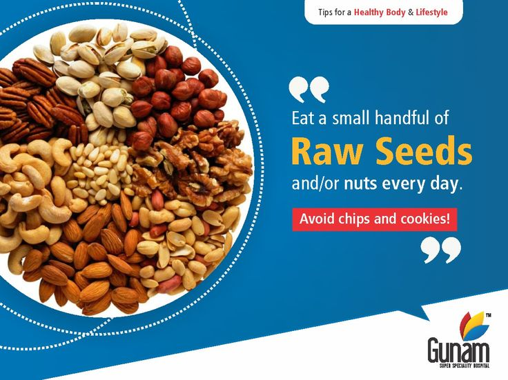 Raw seed/Nuts are a rich source of energy, protein, vitamins, minerals and much discussed omega-3 fatty acid.  Visit us @ https://gunamhospital.com/ #GunamSuperSpecialityHospital #healthtips #Healthcare #healthylifestyle.#healthforall #healthyindia #eathealth
