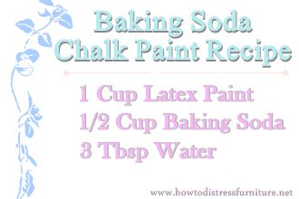 3 Chalk paint recipes -- Plaster of Paris, baking soda. and grout. Good write up on what they experienced with all three.
