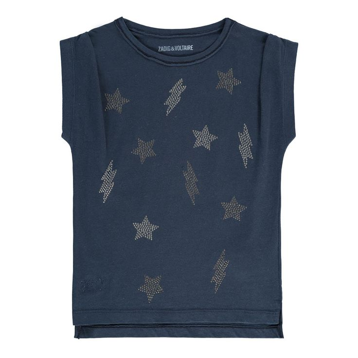 Sofia Stars and Lightning T-Shirt Zadig & Voltaire Teen Children- A large selection of Fashion on Smallable, the Family Concept Store - More than 600