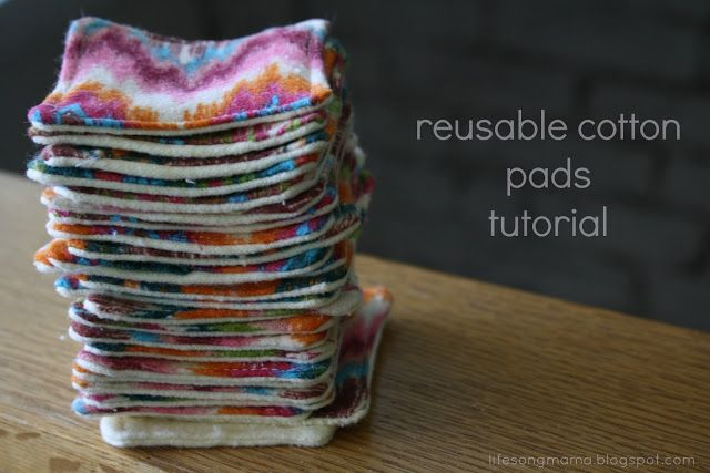 Washable/ Reusable cotton makeup remover pads. In the long run, this saves quite a bit of money!