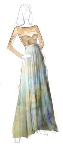 junior prom dress mesh topology