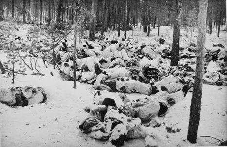 Soviet soldiers killed by Finns in the Karelian Isthmus.