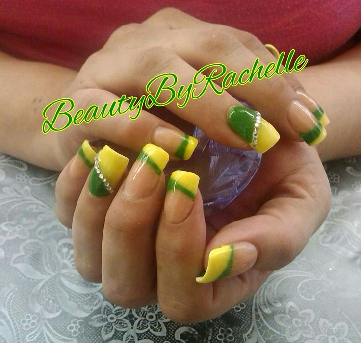 Green Bay Packers Nails