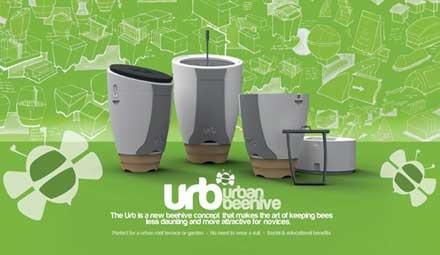 誰でもどこでも養蜂が楽しめるコンセプトモデル「Urban Beehive」