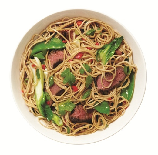 ... spicy Soba Noodle Stir-Fry with Beef and Shiitake Mushrooms. http