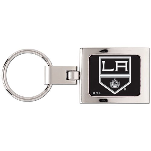 Los Angeles Kings Domed Metal Keychain - Sunset Key Chains