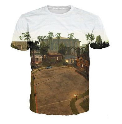 Newest Fashion Womens/Mens Grand Theft Auto Grove Street 3D print T-Shirt | eBay