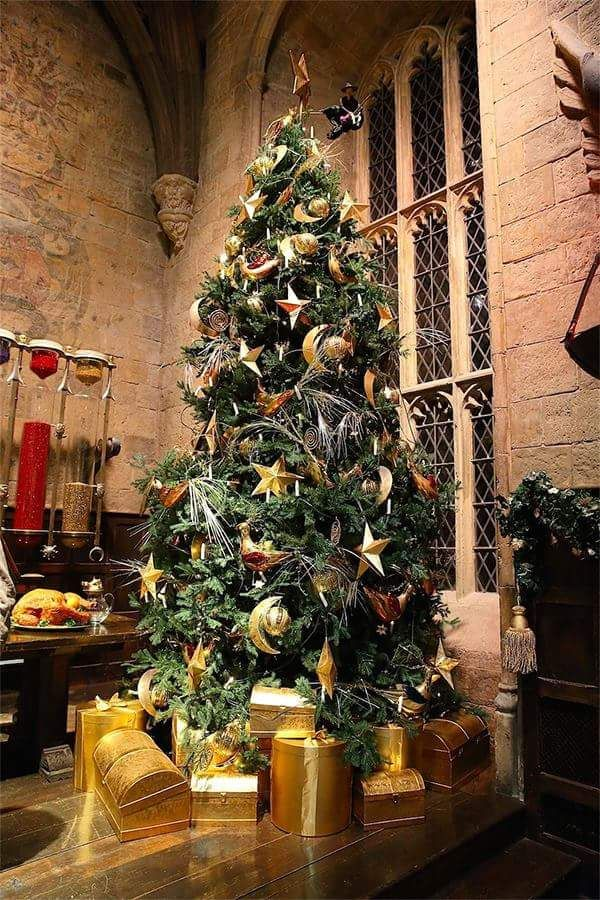 Authentic Harry Potter Theme Decorated Christmas Tree