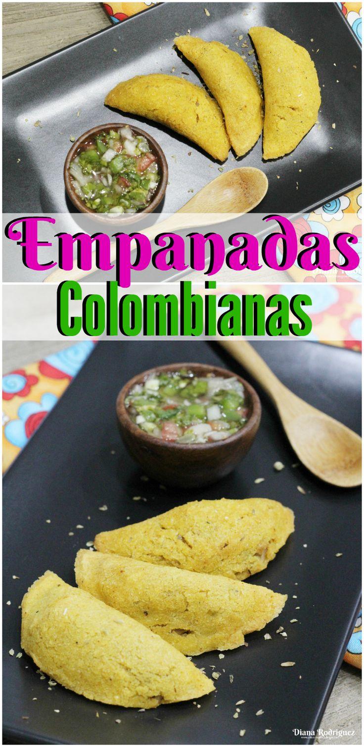 La famosa receta de las Empanadas Colombianas. Todos los ingredientes los encuentras @Sedanos #SaboreaTuCultura #Ad