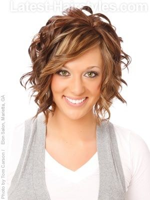 Love this, maybe little less redish color, and not quite so crazy with the curls. :D