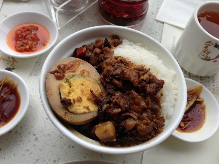 Taiwanese Braised Meat Rice @ King's Dumplings