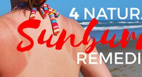 Chemical sunburn relief can cause skin allergies. Try these natural sunburn remedies for red, angry skin.