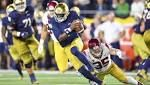 Film Review: Notre Dame QB Brandon Wimbush's mid-term examination