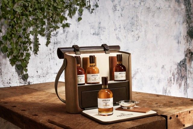 Aberlour Whisky Wood Essence Packaging