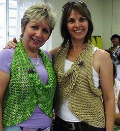 Bolero de verão - tricô da Vitória Quintal   Eu que Fiz - Vovó Baisa
