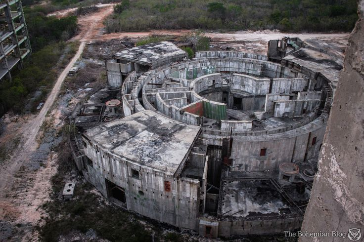 Just 90 miles off the tip of Florida lies a half-baked, abandoned relic of the Cold War-era arms race—what was once going to a joint Cuban-Soviet nuclear reactor. And thank god it never panned out. Because not only do we now have these incredible shots from photographer Darmon Richter, but every last aspect of this thing would have been a total and utter disaster.