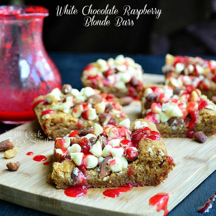 White Chocolate Raspberry Blonde Bars & FOOD FIGHT! - Will Cook For Smiles