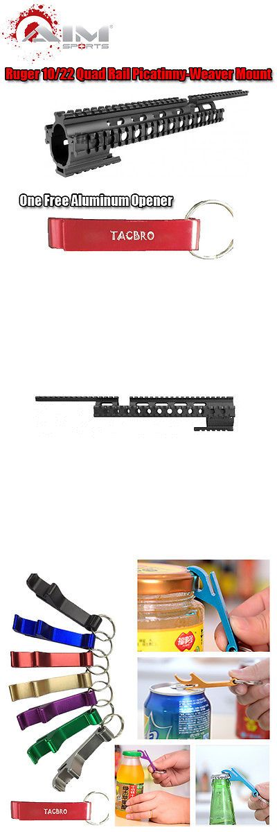 Scope Mounts and Accessories 52510: Aim Sports Ruger 10 22 Tactical Quad Rail Picatinny-Weaver Mounting -> BUY IT NOW ONLY: $35.95 on eBay!