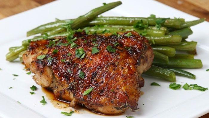 Fokhagymás-mézes csirke Recept képpel - Mindmegette.hu - Receptek