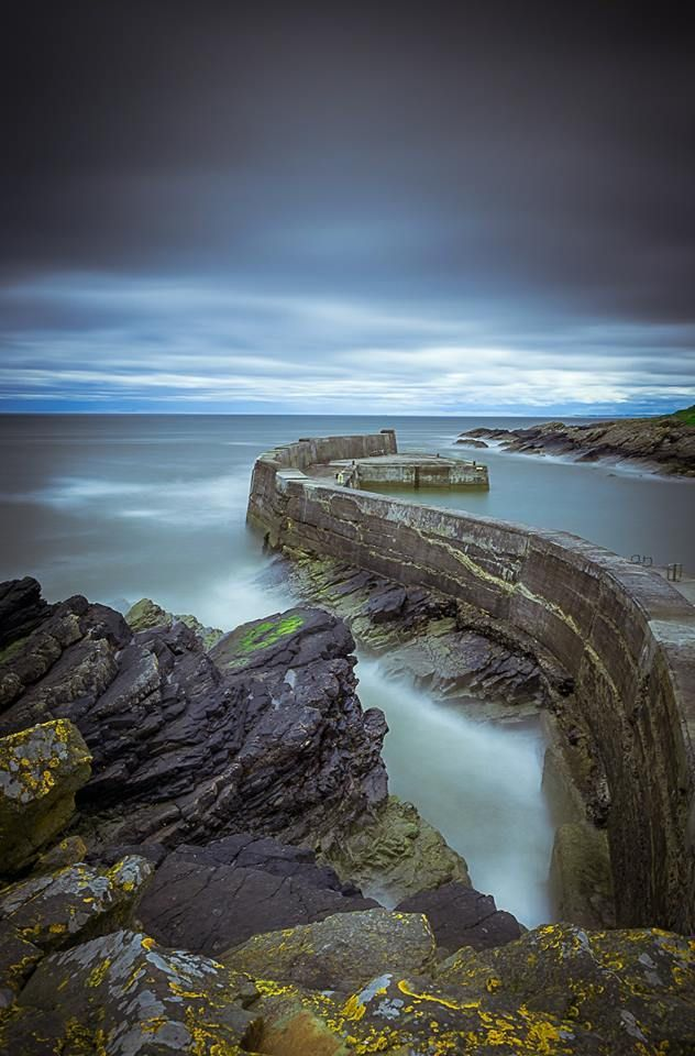 Collieston Pier, Scotland
