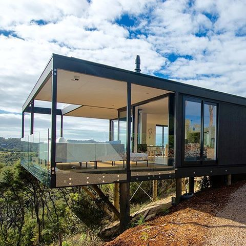 Behomm Community. New home for exchange. New Zealand. Architect