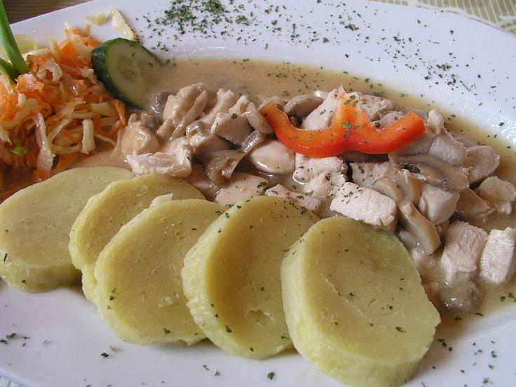 Картофельные кнедлики.Фото: Nillerdk