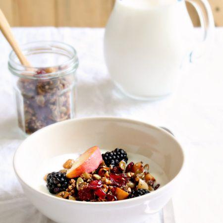 Buckwheat Granola - Gluten Free Granola al grano saraceno - Senza Glutine