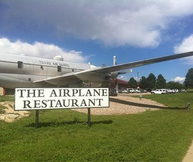 The Airplane Restaurant, Colorado Springs, CO  Putting the diner in airplane dining, this Colorado Springs landmark is on a mission, code ...