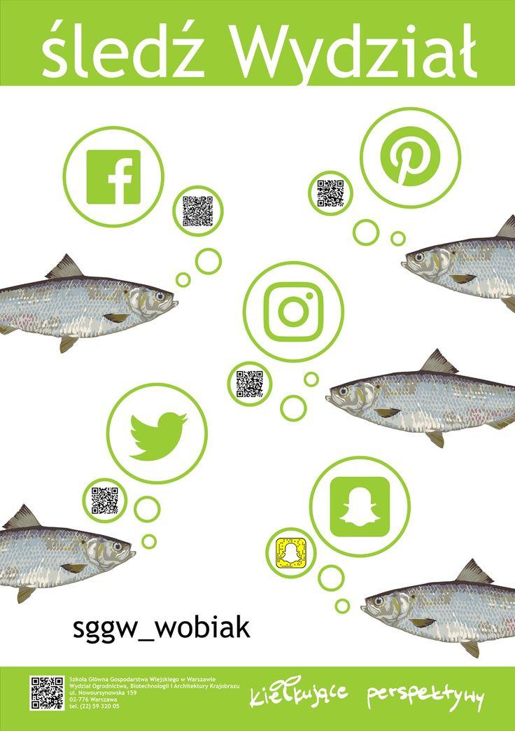 śledź Wydział - sggw_wobiak #sggw #wobiak #promocja #mediaspolecznościowe #socialmedia #followus