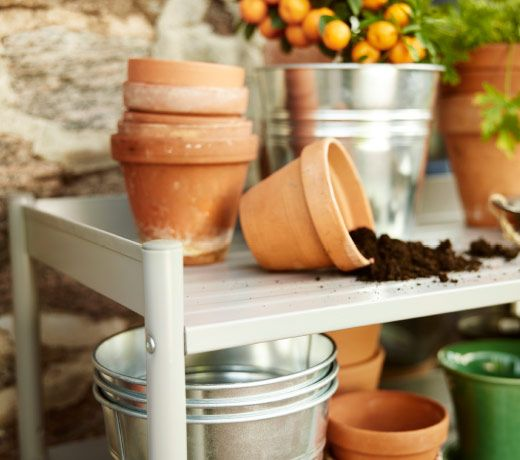 IKEA Plant Pots Are Available In A Variety Of Sizes, Shapes And Materials  For Both Indoor And Outdoor Gardening.