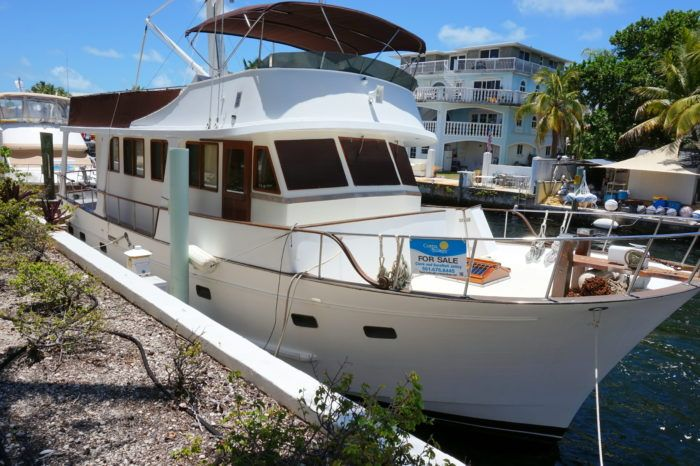 Marine Trader 50 trawler for sale. Get the full specifications, images and price of this Marine Trader 50 trawler for sale.