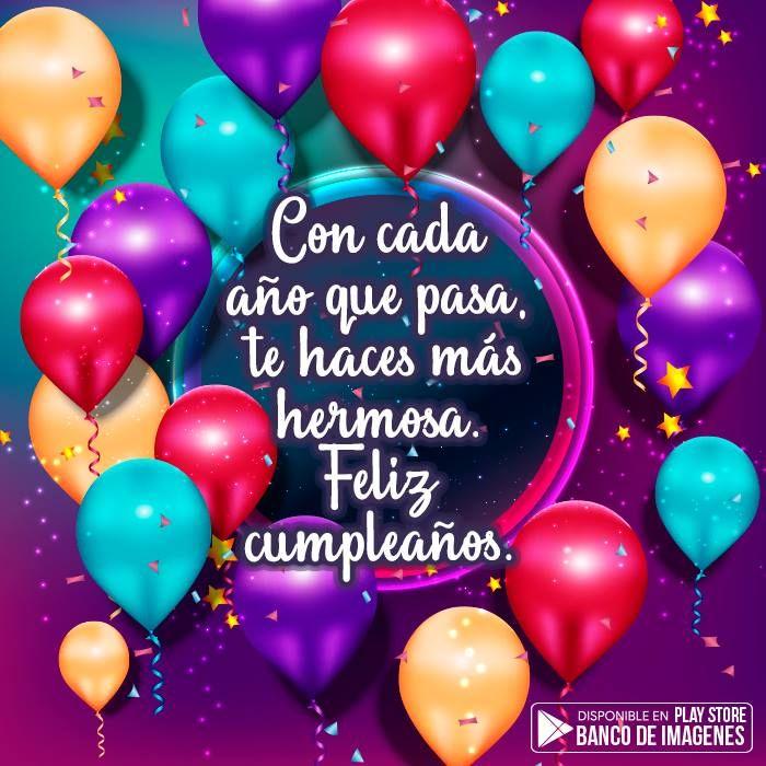 Imagenes De Feliz Cumpleanos Para Mandar Por Whatsapp Birthday Wishes Greetings Happy Birthday Cousin Happy Birthday Celebration