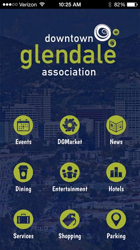 Live, Work, and Play in Downtown Glendale, California! The Downtown Glendale mobile app is your essential guide to local events, dining, entertainment, and shopping in our downtown neighborhood. Discover new things to do with our events calendar and explore all of our great restaurants and shopping destinations in one place. Navigate Downtown Glendale with the app's interactive maps and find convenient parking for your next visit.<p>The Downtown Glendale mobile app is powered by the Downtown…