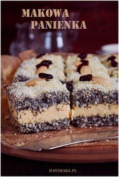 Makowa panienka ciasto #christmas #poppyseed