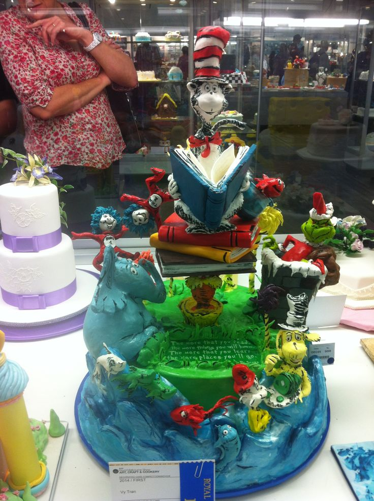 Decorative Cake Royal Melbourne Show 2014