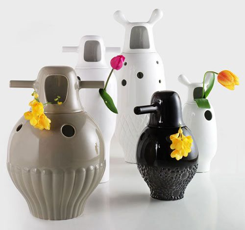 Showtime Vases by Jaime Hayon