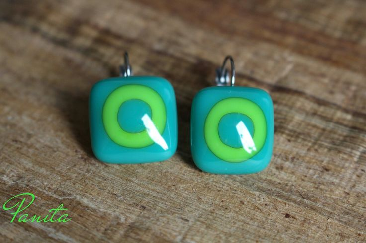 Handmade, fused glass jewelry by PanitaDesign. Additional items posted at www.facebook.com/PanitaDesign