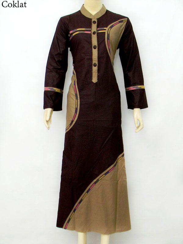 Baju Gamis Muslimah gm1181