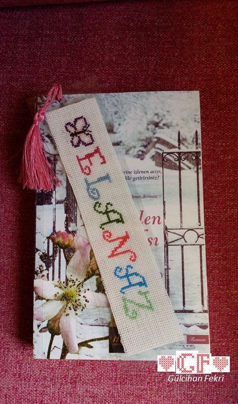"Kitap ayracı ""Elanaz"""