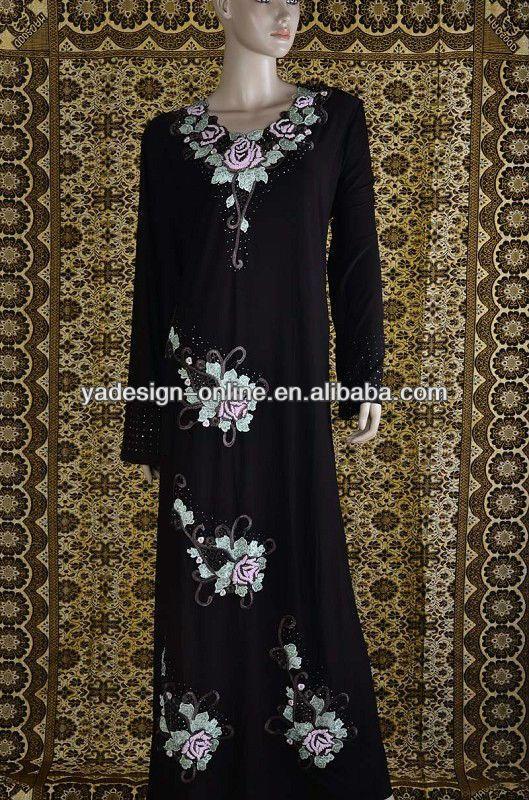 NY076 New WOMEN muslim clothes ISLAMIC CLOTHING abaya $13~$17