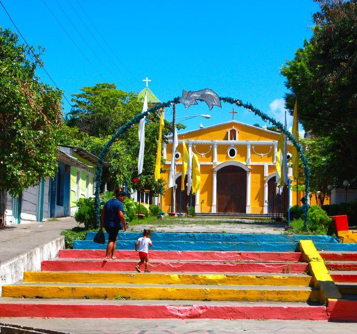 Down town Moyogalpa, Ometepe island, Nicaragua #travelnicaragua #explorenicaragua