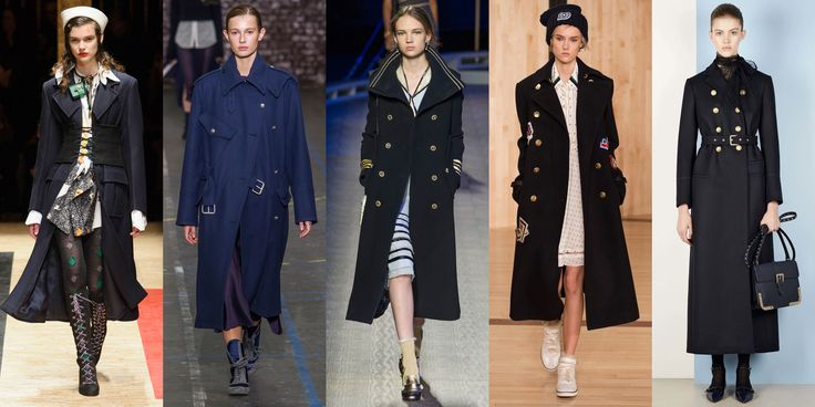 The Navy Overcoat