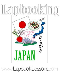 Free Japan Lapbook, almost 50 page download when you subscribe to Lapbook Lessons newsletter.