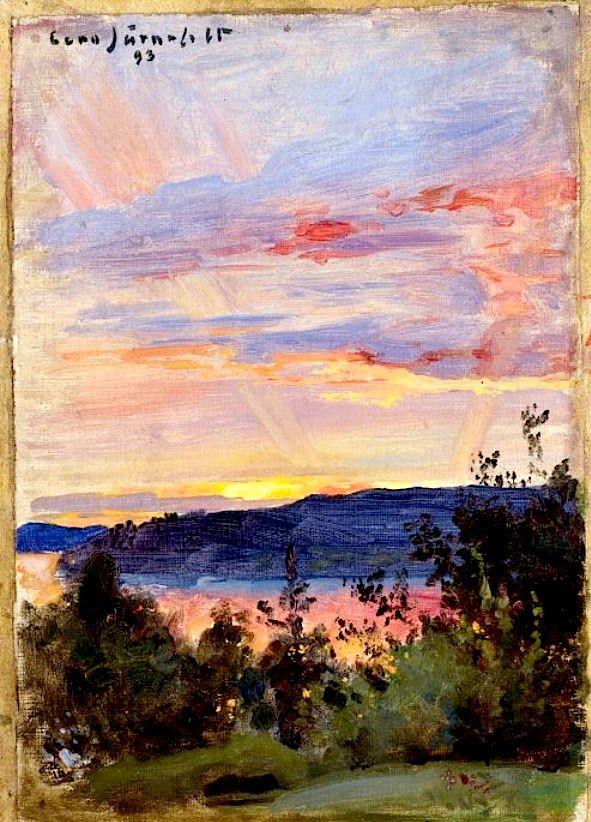 EERO JARNEFELT Sunset (1893)